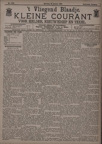 Vliegend blaadje : nieuws- en advertentiebode voor Den Helder 1890-01-25