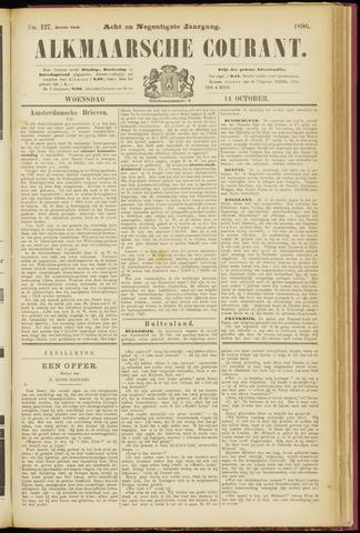 Alkmaarsche Courant 1896-10-14