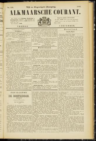 Alkmaarsche Courant 1893-12-08