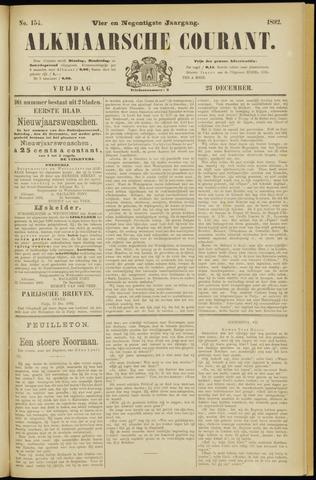 Alkmaarsche Courant 1892-12-23