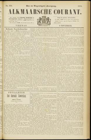Alkmaarsche Courant 1894-11-09