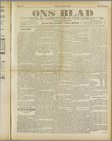 Ons Blad : katholiek nieuwsblad voor N-H 1920-06-11