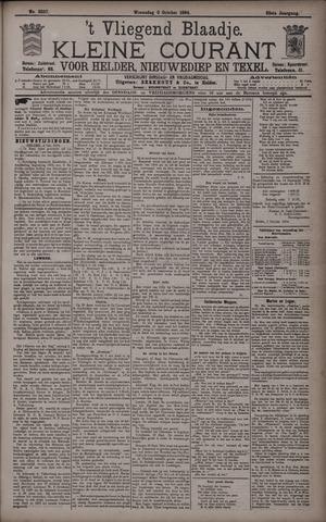 Vliegend blaadje : nieuws- en advertentiebode voor Den Helder 1894-10-03