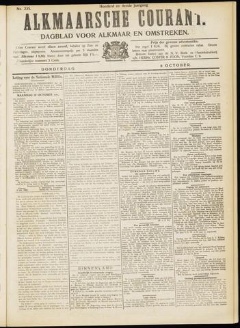 Alkmaarsche Courant 1908-10-08
