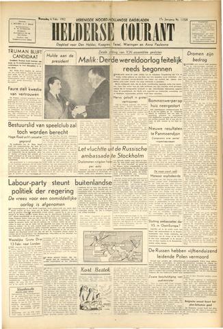 Heldersche Courant 1952-02-06