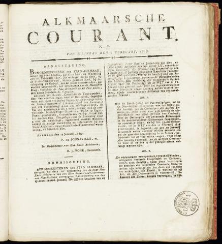 Alkmaarsche Courant 1817-02-03