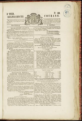 Alkmaarsche Courant 1851-10-06