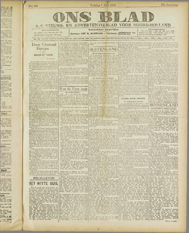 Ons Blad : katholiek nieuwsblad voor N-H 1920-05-07