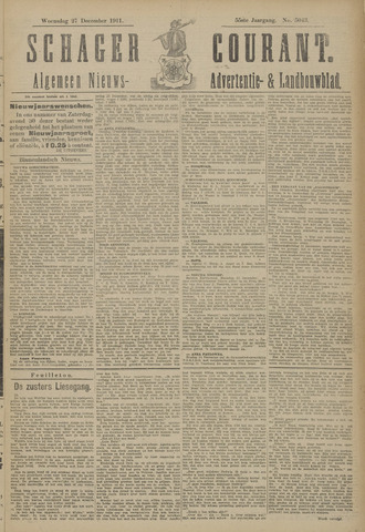 Schager Courant 1911-12-27
