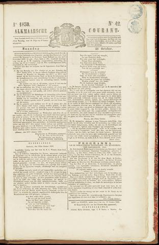 Alkmaarsche Courant 1850-10-21