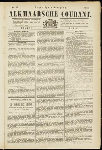 Alkmaarsche Courant 1888-07-06