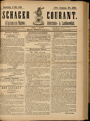 Schager Courant 1889-05-09
