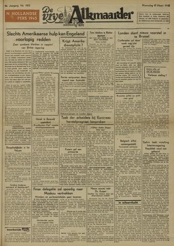 De Vrije Alkmaarder 1948-03-10