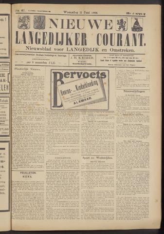 Nieuwe Langedijker Courant 1924-06-11