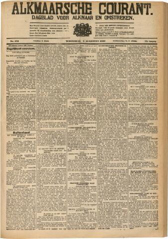 Alkmaarsche Courant 1930-08-06