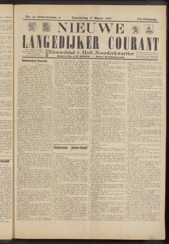 Nieuwe Langedijker Courant 1927-03-17