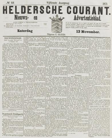 Heldersche Courant 1875-11-13