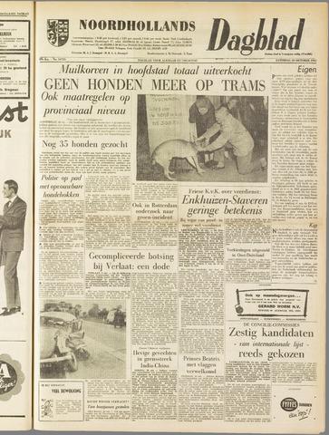 Noordhollands Dagblad : dagblad voor Alkmaar en omgeving 1962-10-20