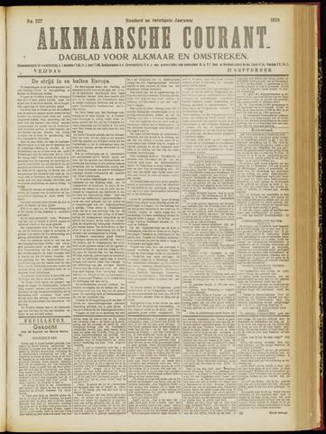 Alkmaarsche Courant 1918-09-27