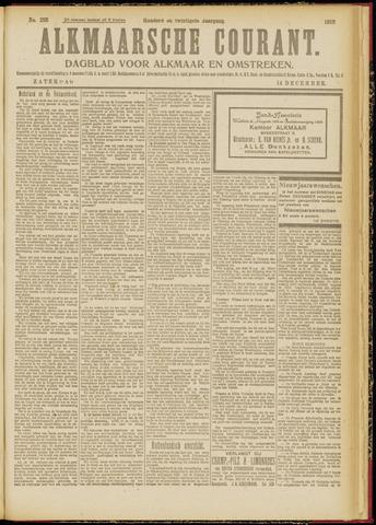 Alkmaarsche Courant 1918-12-14