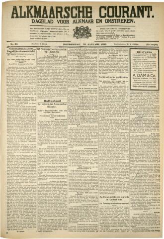 Alkmaarsche Courant 1930-01-30
