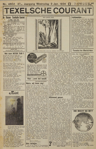 Texelsche Courant 1934