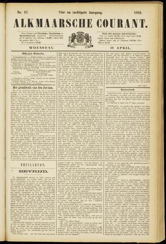 Alkmaarsche Courant 1882-04-19