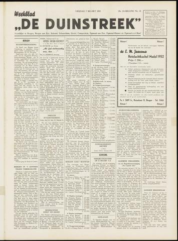 De Duinstreek 1952-03-07