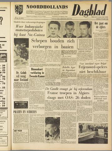 Noordhollands Dagblad : dagblad voor Alkmaar en omgeving 1962-03-27