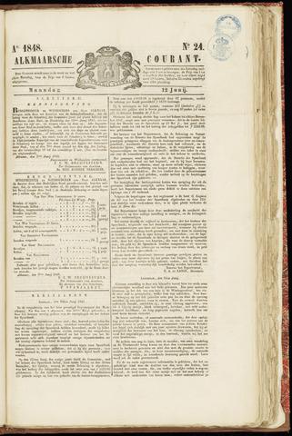 Alkmaarsche Courant 1848-06-12