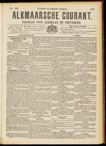 Alkmaarsche Courant 1907-05-04