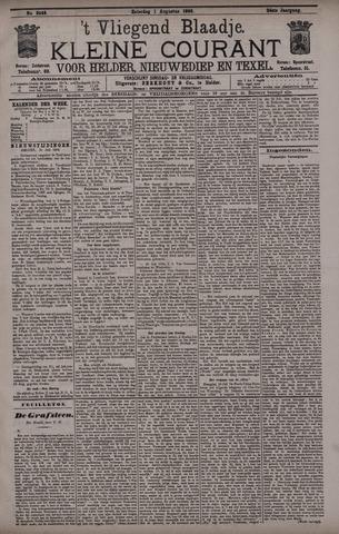Vliegend blaadje : nieuws- en advertentiebode voor Den Helder 1896-08-01