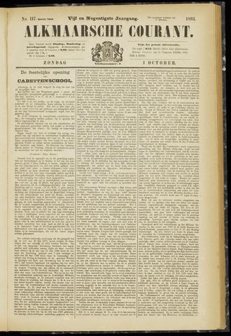 Alkmaarsche Courant 1893-10-01