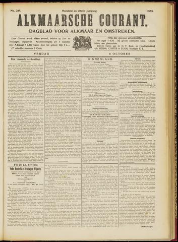 Alkmaarsche Courant 1909-10-08