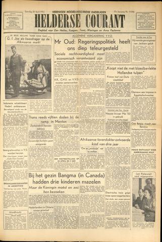 Heldersche Courant 1952-04-26