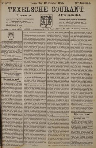 Texelsche Courant 1916-10-19