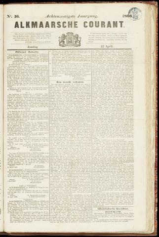 Alkmaarsche Courant 1866-04-22