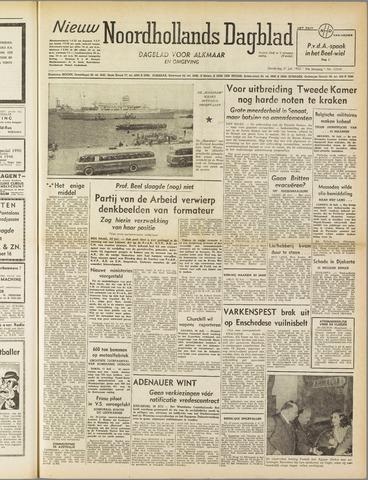 Nieuw Noordhollandsch Dagblad : voor Alkmaar en omgeving 1952-07-31