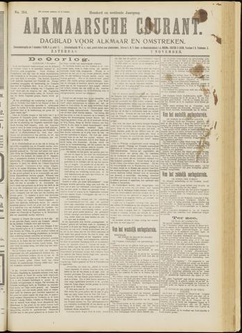 Alkmaarsche Courant 1914-11-07