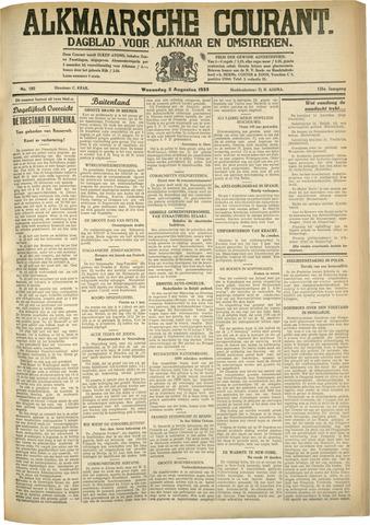 Alkmaarsche Courant 1933-08-02