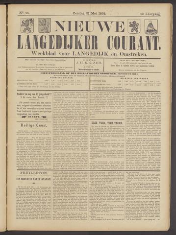 Nieuwe Langedijker Courant 1893-05-21