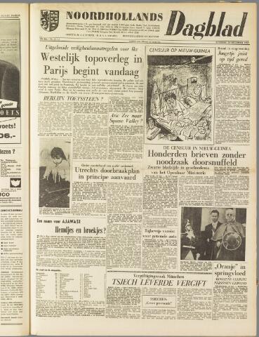 Noordhollands Dagblad : dagblad voor Alkmaar en omgeving 1959-12-19