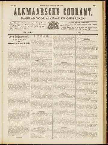 Alkmaarsche Courant 1910-04-05