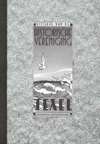 Uitgave Historische Vereniging Texel 2002-09-01