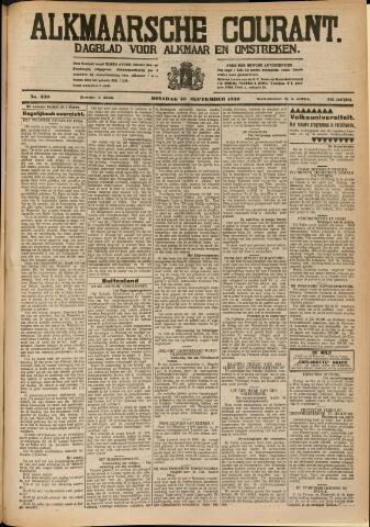 Alkmaarsche Courant 1930-09-30