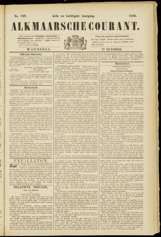 Alkmaarsche Courant 1886-10-27