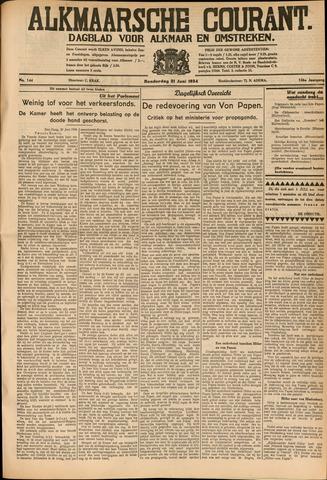 Alkmaarsche Courant 1934-06-21