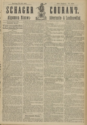 Schager Courant 1911-07-29