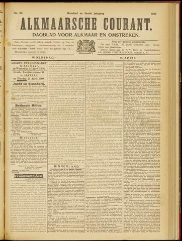 Alkmaarsche Courant 1908-04-15