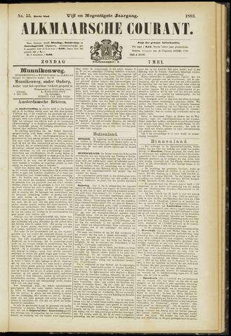 Alkmaarsche Courant 1893-05-07